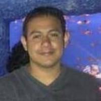Jeiro saenz, autor del poema'Noche de lluvia ''