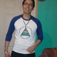 norvin Barrantes, autor del poema'Amistad Eterna''
