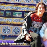 Maria de las nieves, autor del poema'AQUEL, MI AMIGO''
