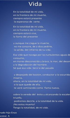 Poema Vida Por Ginus Poematrix